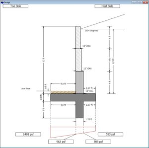 Cantilever Retaining Wall Software 4