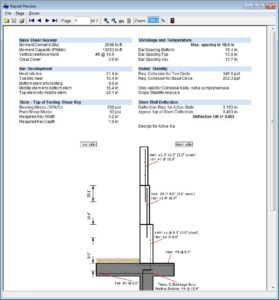 Cantilever Retaining Wall Software 9